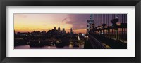 Bridge over a river, Benjamin Franklin Bridge, Philadelphia, Pennsylvania, USA Fine-Art Print