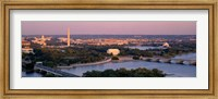 Aerial, Washington DC, District Of Columbia, USA Fine-Art Print