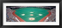 Phillies vs Mets baseball game, Veterans Stadium, Philadelphia, Pennsylvania, USA Fine-Art Print