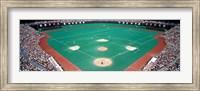 Phillies vs Mets baseball game, Veterans Stadium, Philadelphia, Pennsylvania, USA Fine-Art Print