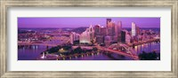 Dusk, Pittsburgh, Pennsylvania, USA Fine-Art Print