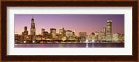 Dusk Skyline Chicago IL USA Fine-Art Print