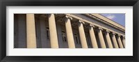Shelby County Courthouse columns Memphis TN USA Fine-Art Print
