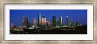 Houston, Texas Skyline at Night Fine-Art Print