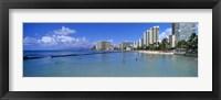 Waikiki Beach Honolulu Oahu HI Fine-Art Print
