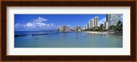 Waikiki Beach Honolulu Oahu HI Fine-Art Print