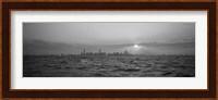 Sunset Over A City, Chicago, Illinois, USA Fine-Art Print