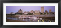 Buildings At The Waterfront, Memphis, Tennessee Fine-Art Print