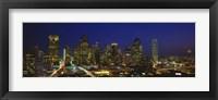 Buildings at Night, Dallas, Texas Fine-Art Print