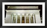 Low angle view of a building, 30th Street Station, Schuylkill River, Philadelphia, Pennsylvania, USA Fine-Art Print