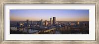 Pittsburgh Buildings at Dawn Fine-Art Print