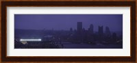 Buildings in a city, Heinz Field, Three Rivers Stadium, Pittsburgh, Pennsylvania, USA Fine-Art Print