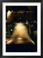 Close-up of a bell, Liberty Bell, Philadelphia, Pennsylvania, USA Fine-Art Print