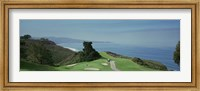 Golf course at the coast, Torrey Pines Golf Course, San Diego, California, USA Fine-Art Print