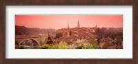 Dusk Bern Switzerland Fine-Art Print