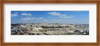 Ariel View Of The Western Wall, Jerusalem, Israel Fine-Art Print