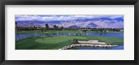 Golf Course, Palm Springs, California, USA Fine-Art Print
