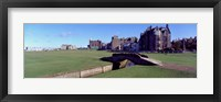 Footbridge in a golf course, The Royal and Ancient Golf Club of St Andrews, St. Andrews, Fife, Scotland Fine-Art Print