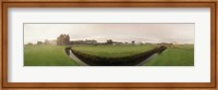 Golf course with buildings in the background, The Royal and Ancient Golf Club, St. Andrews, Fife, Scotland Fine-Art Print