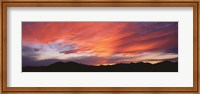 Sunset over Black Hills National Forest Custer Park State Park SD USA Fine-Art Print