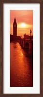 Big Ben at dusk, London England Fine-Art Print