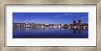 Buildings On The Waterfront, Oslo, Norway Fine-Art Print