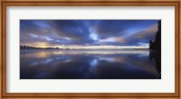 Panoramic view of a river, Vuoksi River, Imatra, Finland Fine-Art Print