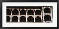Low angle view of a monastery, Rila Monastery, Bulgaria Fine-Art Print