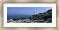 Castle Hill Lighthouse at the seaside, Newport, Newport County, Rhode Island, USA Fine-Art Print