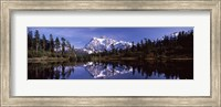 Mt Shuksan Reflection at Picture Lake, North Cascades National Park Fine-Art Print