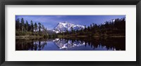 Mt Shuksan Reflection at Picture Lake, North Cascades National Park Fine-Art Print