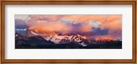 Purple Clouds Over Monte Fitz Roy, Argentina Fine-Art Print