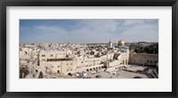Wailing Wall, Jerusalem, Israel Fine-Art Print