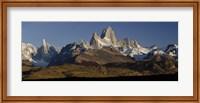 Mountains, Mt Fitzroy, Cerro Torre, Argentine Glaciers National Park, Patagonia, Argentina Fine-Art Print
