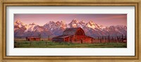 Barn Grand Teton National Park WY USA Fine-Art Print