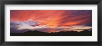 Sunset over Black Hills National Forest Custer Park State Park SD USA Fine-Art Print