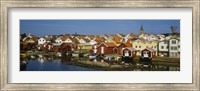 High Angle View Of A Town, Smogen, Bohuslan, Sweden Fine-Art Print