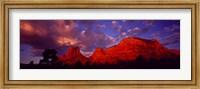 Rocks at Sunset Sedona AZ USA Fine-Art Print