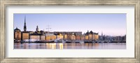 Buildings on the waterfront, Old Town, Stockholm, Sweden Fine-Art Print