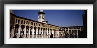Group of people walking in the courtyard of a mosque, Umayyad Mosque, Damascus, Syria Fine-Art Print