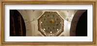 Low angle view of ceiling in a mosque, Umayyad Mosque, Damascus, Syria Fine-Art Print