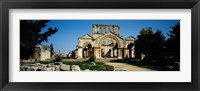 Old ruins of a church, St. Simeon The Stylite Abbey, Aleppo, Syria Fine-Art Print