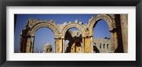 Old ruins of a church, St. Simeon Church, Aleppo, Syria Fine-Art Print