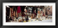 Group of objects in a market, Palmyra, Syria Fine-Art Print