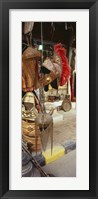 Souvenirs displayed in a market, Palmyra, Syria Fine-Art Print