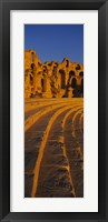Old ruins of an amphitheater, Roman Theater, El Djem, Mahdia Governorate, Tunisia Fine-Art Print
