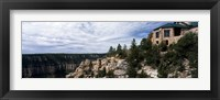 Low angle view of a building, Grand Canyon Lodge, Bright Angel Point, North Rim, Grand Canyon National Park, Arizona, USA Fine-Art Print