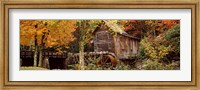 Glade Creek Grist Mill, Babcock State Park, West Virginia, USA Fine-Art Print