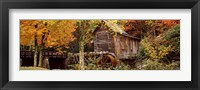 Glade Creek Grist Mill, Babcock State Park, West Virginia, USA Fine-Art Print