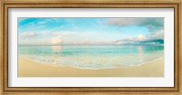 Waves on the beach, Seven Mile Beach, Grand Cayman, Cayman Islands Fine-Art Print